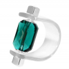 Inel Missi Concept - Cristal Swarovski Emerald