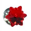 Insigna - Brosa - Cristal Swarovski - Floare de Colt