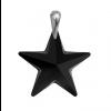 Pandantiv Black Star - Cristal Swarovski