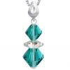 Pandantiv Loren - Cristale Swarovski Xilion Blue Zircon