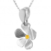 Pandantiv Floare - Cristal Swarovski Sunflower
