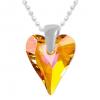 Pandantiv Wild Heart Astral Pink - Cristal Swarovski