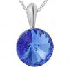 Pandantiv Rivoli - Cristal Swarovski Sapphire