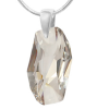 Pandantiv Meteor Silver Shade - Cristal Swarovski