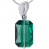 Pandantiv Emerald Cut - Cristal Swarovski