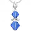 Pandantiv Loren - Cristale Swarovski Xilion Blue Sapphire