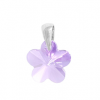 Pandantiv Violet Flower - Cristal Swarovski