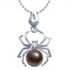 Pandantiv Brown Spider - Perla Naturala