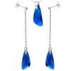 Set Aripi Capri Blue - Cristale Swarovski