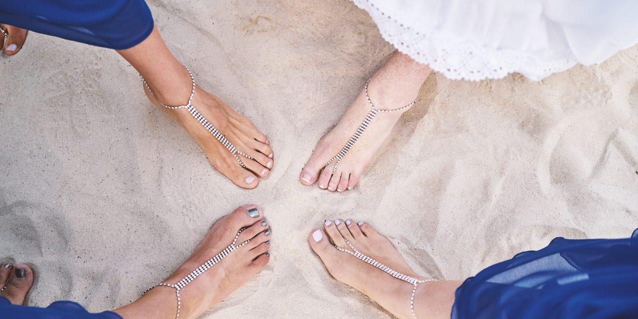 Brățările pentru gleznă – mereu în trend