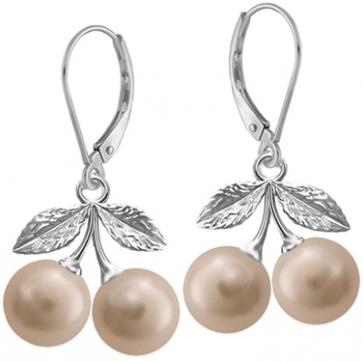 Cercei Cirese - Perle Swarovski Almond