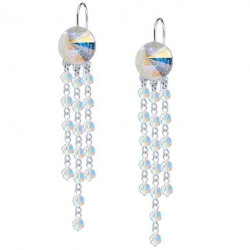 Cercei Kendi - Cristale Swarovski