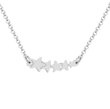 Colier Silver Stars