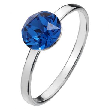 Inel Hera - Cristal Swarovski Capri Blue