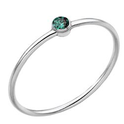 Inel Light - Cristal Zirconiu Emerald