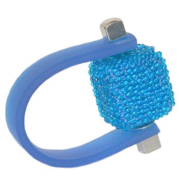 Inel Missi Concept - Blue - Sticla Boemia