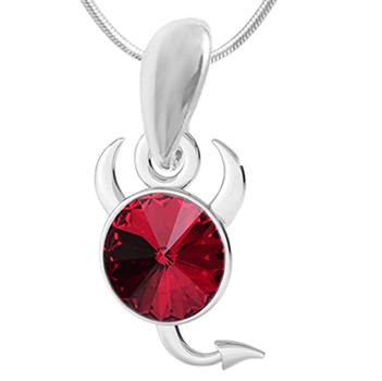 Pandantiv Red Little Devil - Cristal Swarovski