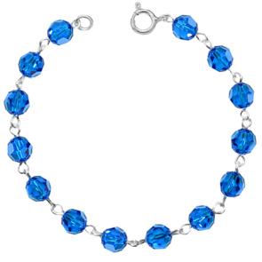 Bratara Capri Blue - Cristale Swarovski