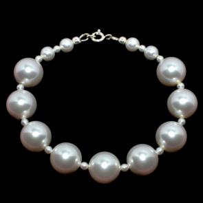 Bratara perle swarovski