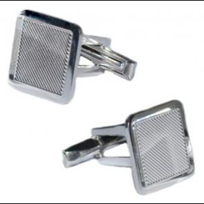 Butoni Square - Argint  925