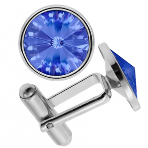 Butoni Cristale Swarovski Sapphire