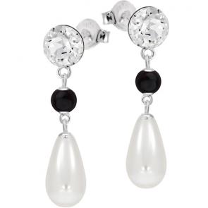 Cercei Divia Mystic - Cristale & Perle Swarovski
