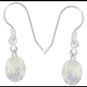 Cercei Aurora Boreala - Cristale Swarovski