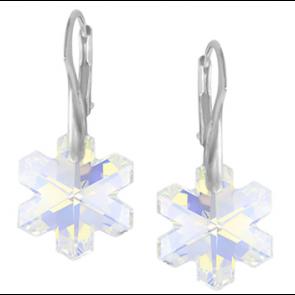 Cercei Cristale Swarovski - Fulgi de Nea