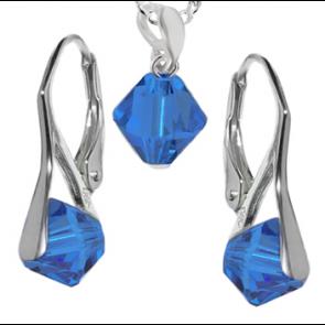 Set Xilion Capri Blue - Cristale Swarovski