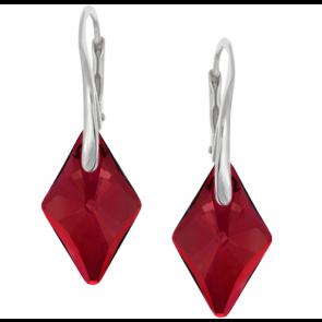 Cercei Rhombus - Cristale Swarovski