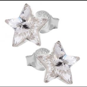 Cercei Silver Shade - Cristale Swarovski