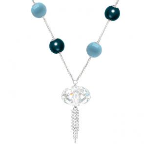 Colier Blue - Cristal & Perle Swarovski
