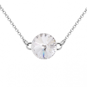 Colier Aloria - Cristal Swarovski Rivoli Crystal Clear