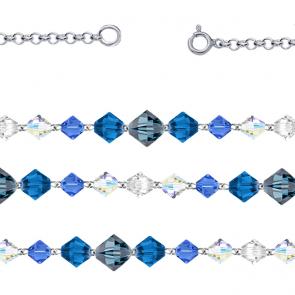 Colier Blue Spirit -  Cristale Swarovski