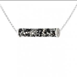 Colier Rocks Tube - Cristale Swarovski
