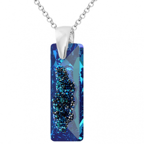 Colier Growing Bermuda Blue - Cristal Swarovski - Designer Edition IRIS VAN HERPEN