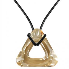 Colier Golden Shadow - Cristal Swarovski