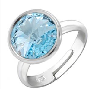 Inel Missi - Cristal Swarovski Aquamarine