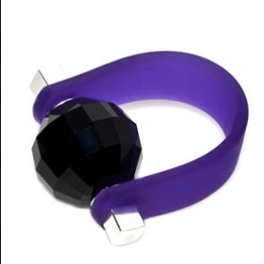 Inel Missi Concept - Purple Missi - Cristal Swarovski