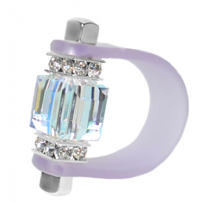 Inel Missi Concept Violet - Cristal Swarovski