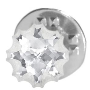 Insigna Jellyfish Crystal F - Brosa - Cristal Swarovski Designer Edition Céline Cousteau
