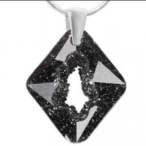 Pandantiv Growing Crystal Rhombus SN - Cristal Swarovski - Designer Edition IRIS VAN HERPEN