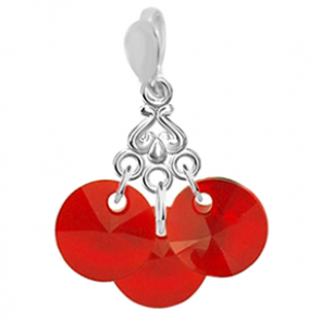 Pandantiv Scarlet - Cristale Swarovski