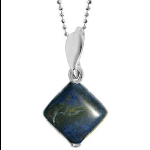 Pandantiv Romb - Lapis Lazuli