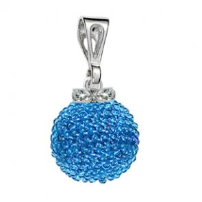 Pandantiv Blue - Sticla Boemia