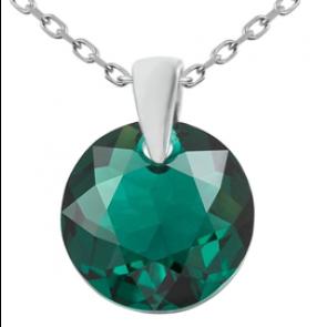 Pandantiv Emre - Cristal Swarovski Emerald