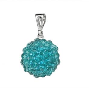 Pandantiv Turcoaz - Cristale Boemia