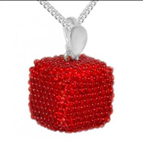 Pandantiv Red Cub - Sticla Boemia