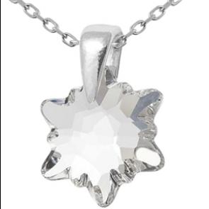 Pandantiv Edelweiss Crystal Clear - Cristal Swarovski