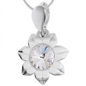 Pandantiv Floarea Soarelui - Cristal Swarovski